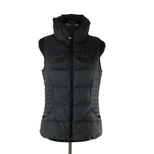 Lululemon Fluffin Awesome Down Vest Black & Gray